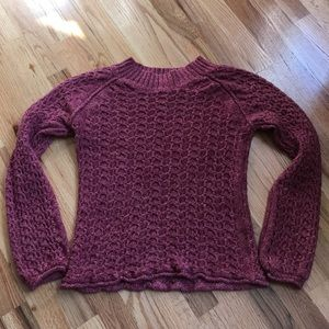 Sundance Sweater, Raspberry Medium